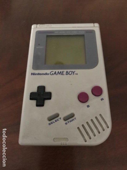 Videojuegos y Consolas: Game BOY CLASICA DE NINTENDO AÑOS 80 FUNCIONANDO - Foto 2 - 216533156