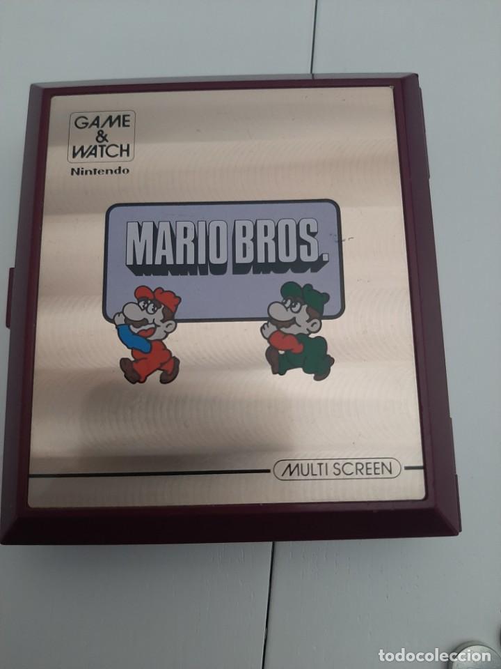 NINTENDO GAME & WATCH MARIO BROS 1983 FUNCIONA PERFECTAMENTE (Juguetes - Videojuegos y Consolas - Nintendo - GameBoy)