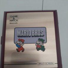Videojuegos y Consolas: NINTENDO GAME & WATCH MARIO BROS 1983 FUNCIONA PERFECTAMENTE. Lote 205789500
