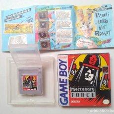 Videojuegos y Consolas: MERCENARY FORCE GAME BOY. Lote 205812996