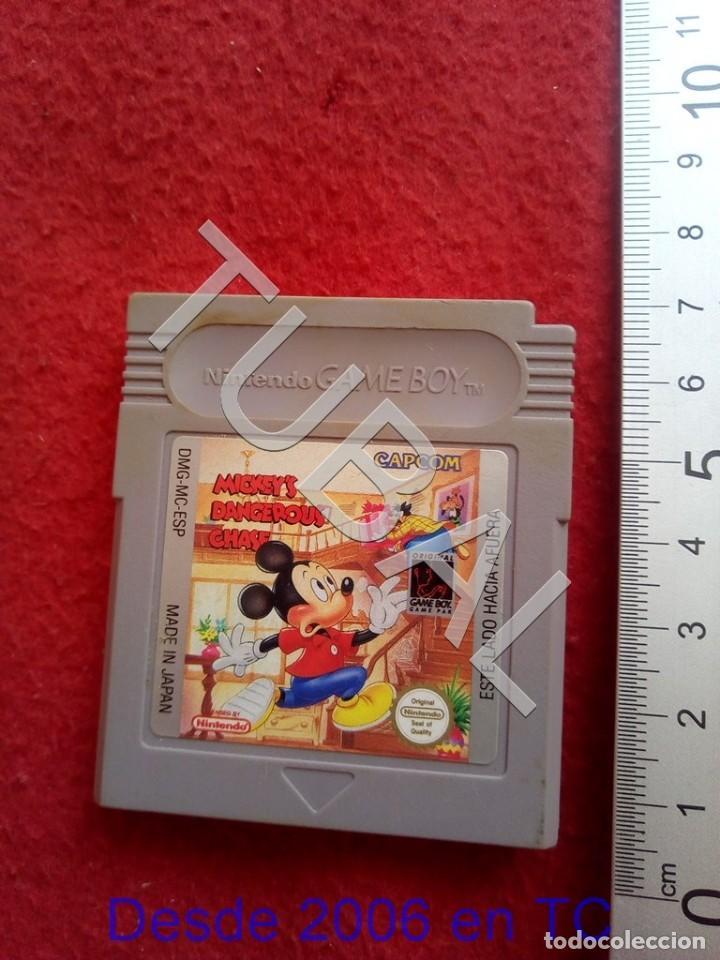 TUBAL MICKEY'S DANGEROUS CHASE JUEGO GAME BOY FUNCIONANDO CJ3 (Juguetes - Videojuegos y Consolas - Nintendo - GameBoy)