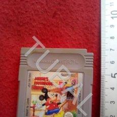 Videojuegos y Consolas: TUBAL MICKEY'S DANGEROUS CHASE JUEGO GAME BOY FUNCIONANDO CJ3. Lote 206134036