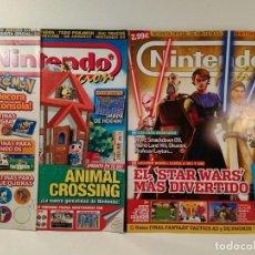 Videojuegos y Consolas: LOTE NÚMS. 160 Y 191 REVISTA OFICIAL NINTENDO ACCION. REVISTA OFICIAL: WII. GAME BOY. Lote 206181570
