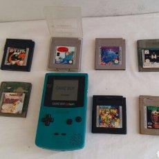 Videojuegos y Consolas: NINTENDO GAME BOY COLOR FUNCIONA Y CON 7 JUEGOS. Lote 206235346