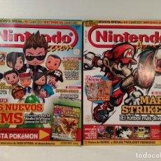 Videojuegos y Consolas: LOTE NÚMS. 173 Y 175 REVISTA OFICIAL NINTENDO ACCION. REVISTA OFICIAL: WII. GAME BOY.. Lote 206257250