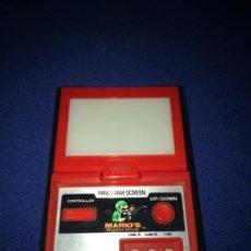 Videojuegos y Consolas: NINTENDO PANORAMA MARIO BOMBS GAME & WATCH 1983 VINTAGE MAQUINITA. Lote 206471875