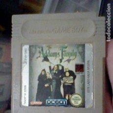 Videojuegos y Consolas: ADDAMS FAMILY GB GAME BOY JUEGO FUNCIONANDO NINTENDO. Lote 206522915