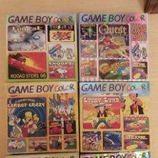 Videojuegos y Consolas: LOTE 6 JUEGOS GAME BOY COLOR. Lote 206524026