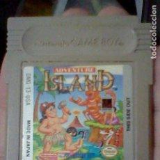 Videojuegos y Consolas: ADVENTURE ISLAND GB GAME BOY JUEGO FUNCIONANDO NINTENDO T3-USA. Lote 206533411