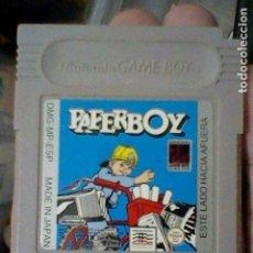 Videojuegos y Consolas: PAPERBOY PAPER BOY GB GAME BOY JUEGO FUNCIONANDO NINTENDO DT-ESP. Lote 206536300