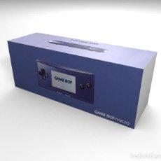 Videojuegos y Consolas: CAJA GAME BOY MICRO AZUL (CON CAJA INTERIOR) REPRO (NO INCLUYE LA CONSOLA). Lote 206560842