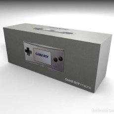Videojuegos y Consolas: CAJA GAME BOY MICRO GRIS (CON CAJA INTERIOR) REPRO (NO INCLUYE LA CONSOLA). Lote 206561021
