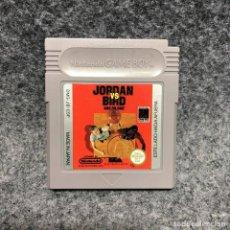 Videojuegos y Consolas: JORDAN VS BIRD ONE ON ONE NINTENDO GAME BOY GB. Lote 206562013
