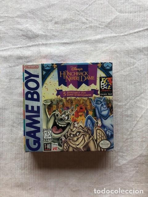DISNEY'S THE HUNCHBACK OF NOTRE DAME NINTENDO GAMEBOY GAME BOY COMPLETO (Juguetes - Videojuegos y Consolas - Nintendo - GameBoy)