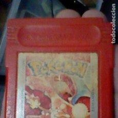 Videojuegos y Consolas: POKEMON ROJO GAMEBOY GB GAME BOY JUEGO FUNCIONANDO NINTENDO. Lote 206602013