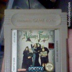 Videojuegos y Consolas: ADDAMS FAMILY GAMEBOY GB GAME BOY JUEGO FUNCIONANDO NINTENDO. Lote 206603111