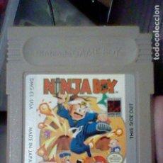 Videojuegos y Consolas: NINJA BOY GAMEBOY GB GAME BOY JUEGO FUNCIONANDO NINTENDO CL USA. Lote 206603371