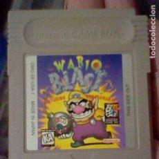 Videojuegos y Consolas: WARIO BLASF GAMEBOY GB GAME BOY JUEGO FUNCIONANDO NINTENDO EE USA 1. Lote 206603610