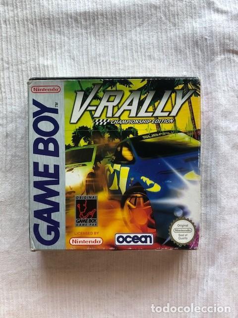 Videojuegos y Consolas: V-Rally Championship Edition Nintendo Gameboy GB Advance GBA completo PAL Espana - Foto 2 - 207032553