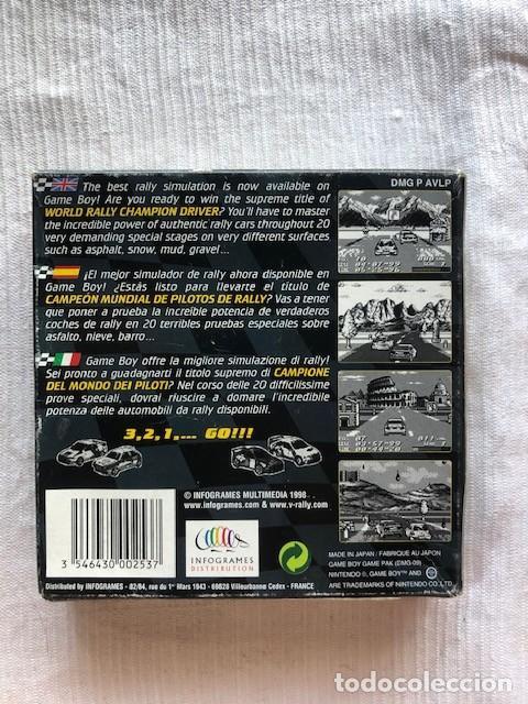 Videojuegos y Consolas: V-Rally Championship Edition Nintendo Gameboy GB Advance GBA completo PAL Espana - Foto 3 - 207032553