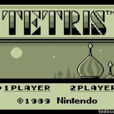 Videojuegos y Consolas: CARTUCHO ORIGINAL NINTENDO GAMEBOY TETRIS. AÑO: 1989. Lote 207446211