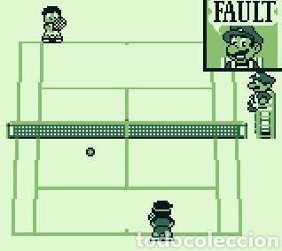CARTUCHO ORIGINAL NINTENDO GAMEBOY TENNIS. AÑO 1989 (Juguetes - Videojuegos y Consolas - Nintendo - GameBoy)