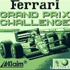 Videojuegos y Consolas: CARTUCHO ORIGINAL NINTENDO GAMEBOY FERRARI GRAND PRIX CHALLENGE (FERRARI). Lote 207448913