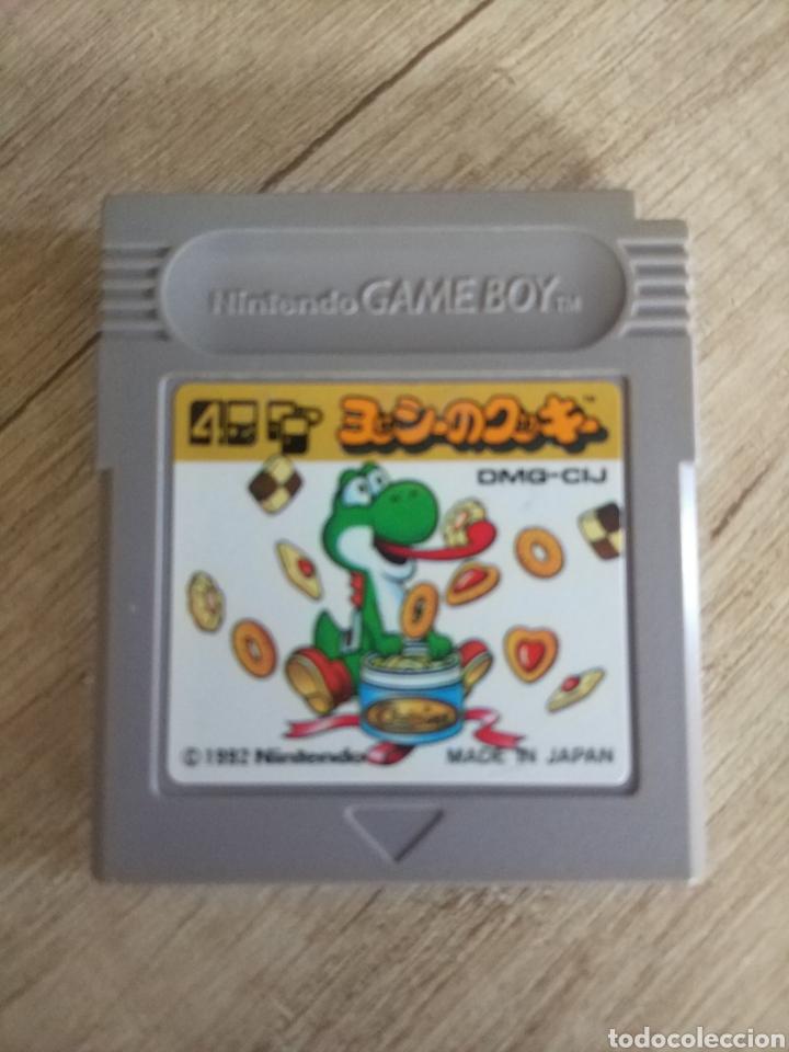 CARTUCHO ORIGINAL NINTENDO GAMEBOY YOSHI COOKIE (Juguetes - Videojuegos y Consolas - Nintendo - GameBoy)
