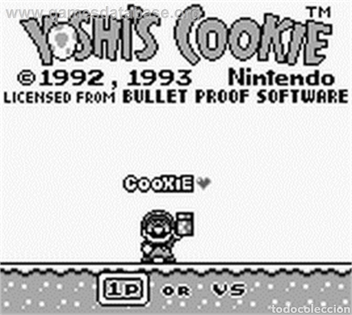 Videojuegos y Consolas: Cartucho original Nintendo GameBoy YOSHI COOKIE - Foto 3 - 207444936
