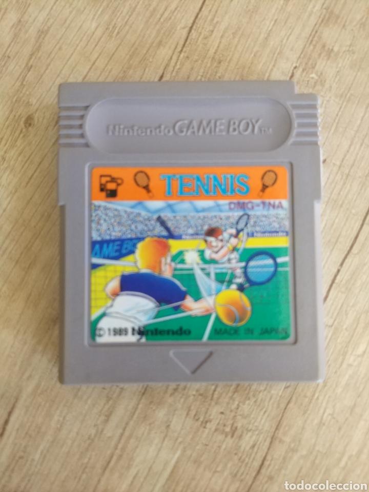 Videojuegos y Consolas: Cartucho original Nintendo GameBoy TENNIS. Año 1989 - Foto 2 - 207447976