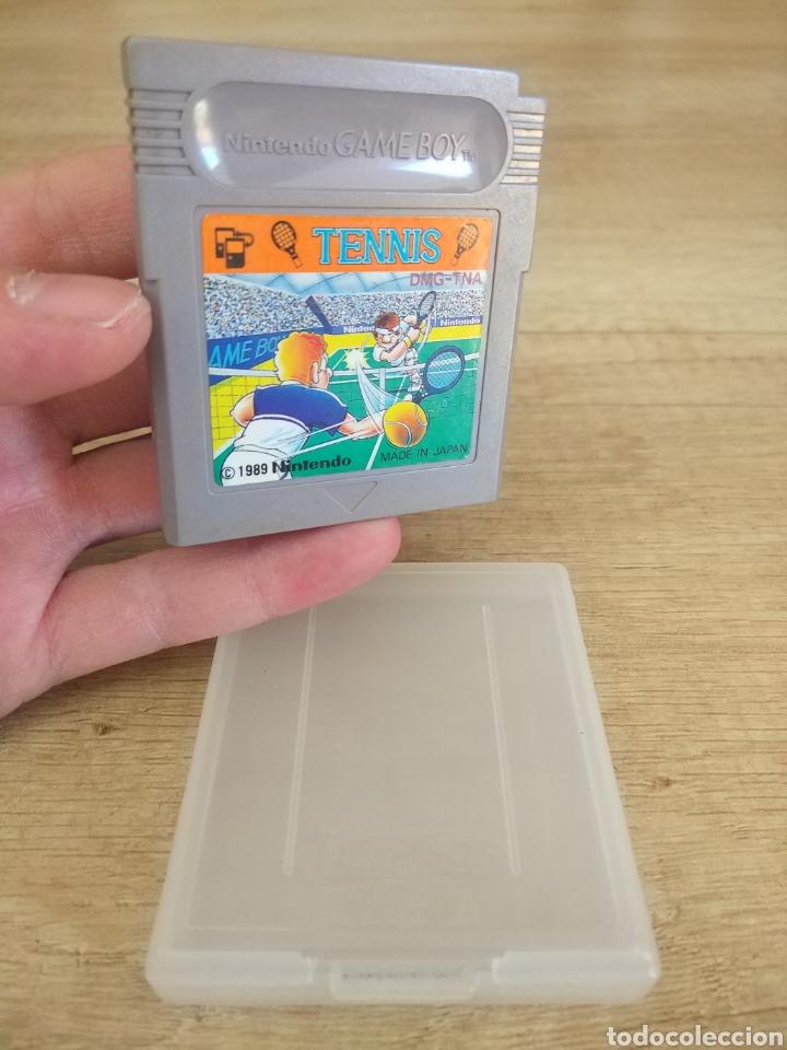 Videojuegos y Consolas: Cartucho original Nintendo GameBoy TENNIS. Año 1989 - Foto 4 - 207447976