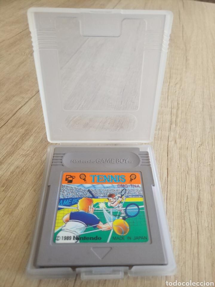Videojuegos y Consolas: Cartucho original Nintendo GameBoy TENNIS. Año 1989 - Foto 5 - 207447976