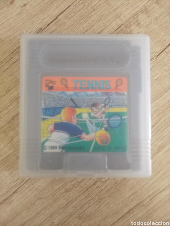 Videojuegos y Consolas: Cartucho original Nintendo GameBoy TENNIS. Año 1989 - Foto 12 - 207447976