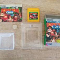 Videojuegos y Consolas: JUEGO NINTENDO GAMEBOY DONKEY KONG LAND. ORIGINAL Y COMPLETO. AÑO 1995. Lote 207760385