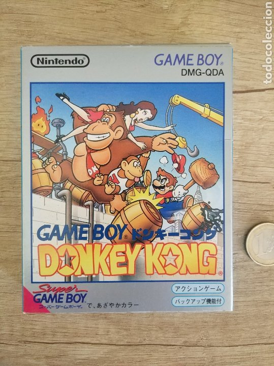 Videojuegos y Consolas: Juego Nintendo GameBoy DONKEY KONG. Original y Completo. Año: 1994 - Foto 2 - 207767227