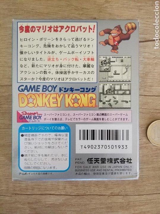Videojuegos y Consolas: Juego Nintendo GameBoy DONKEY KONG. Original y Completo. Año: 1994 - Foto 3 - 207767227