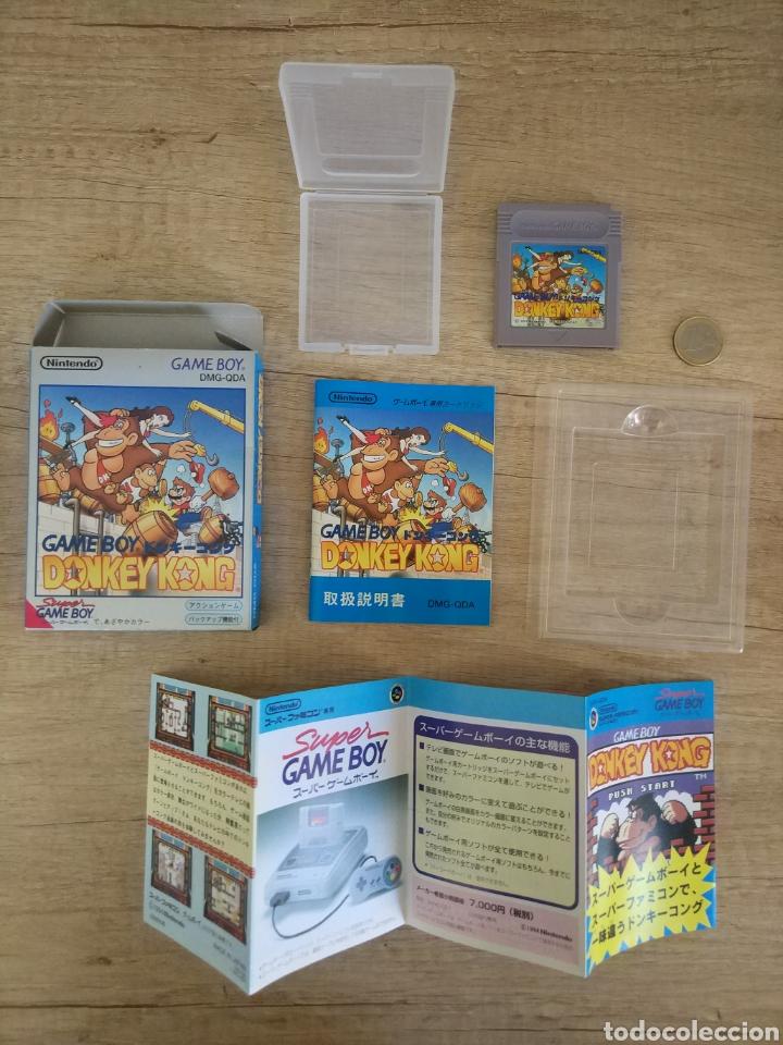 Videojuegos y Consolas: Juego Nintendo GameBoy DONKEY KONG. Original y Completo. Año: 1994 - Foto 11 - 207767227