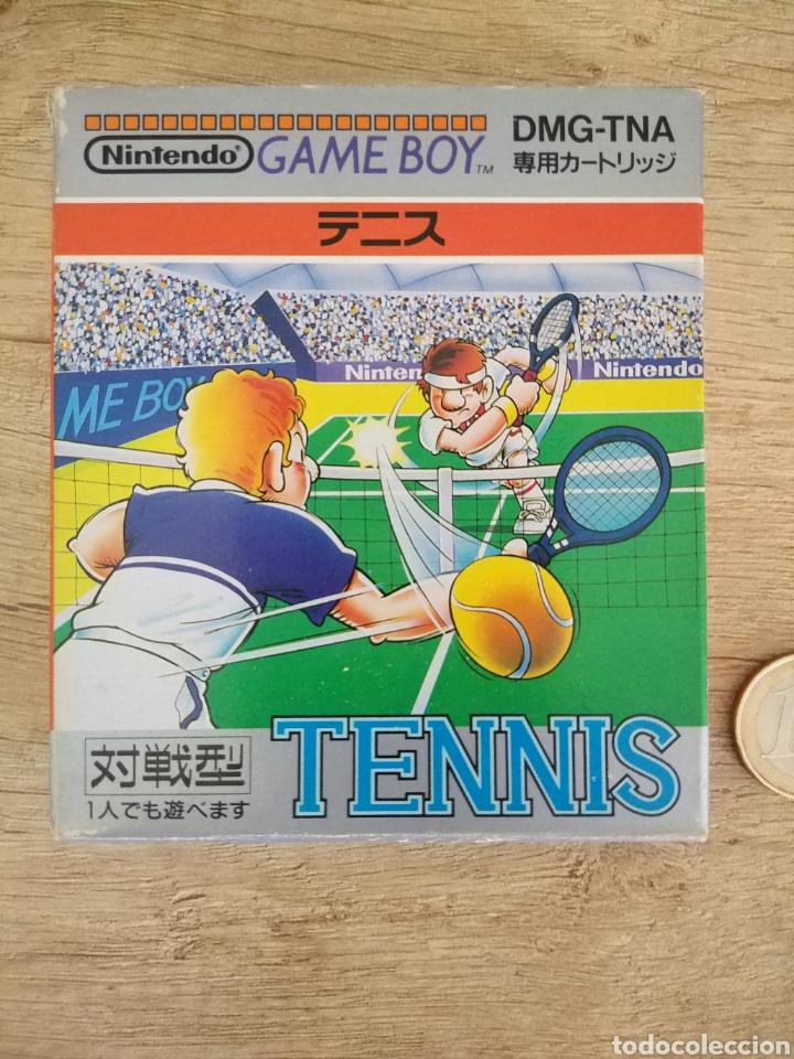 Videojuegos y Consolas: Juego Nintendo GameBoy TENNIS. Original y Completo. Año: 1989 - Foto 4 - 207771022