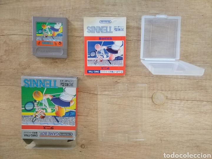 Videojuegos y Consolas: Juego Nintendo GameBoy TENNIS. Original y Completo. Año: 1989 - Foto 12 - 207771022
