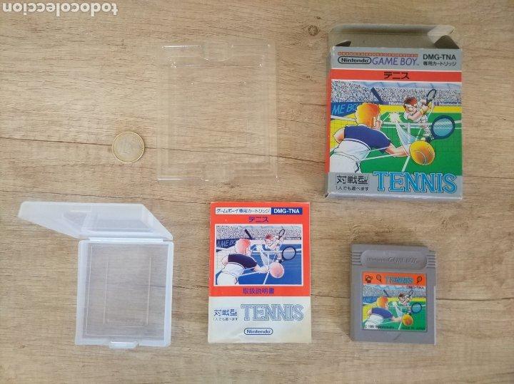 JUEGO NINTENDO GAMEBOY TENNIS. ORIGINAL Y COMPLETO. AÑO: 1989 (Juguetes - Videojuegos y Consolas - Nintendo - GameBoy)