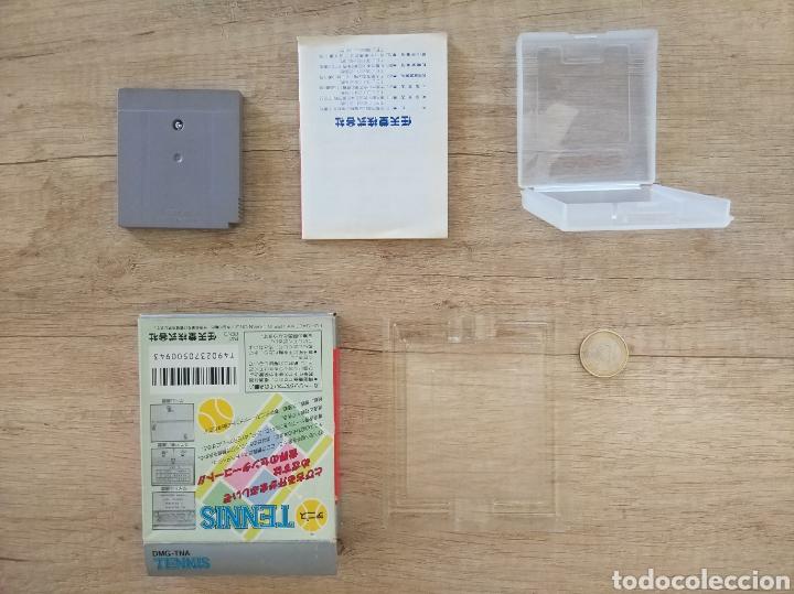 Videojuegos y Consolas: Juego Nintendo GameBoy TENNIS. Original y Completo. Año: 1989 - Foto 13 - 207771022