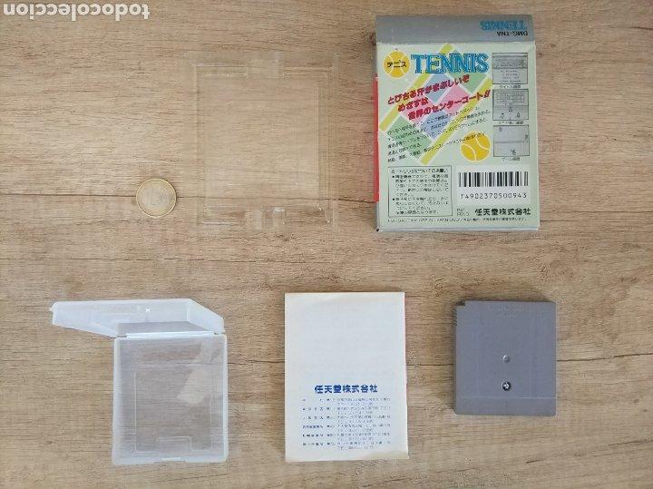 Videojuegos y Consolas: Juego Nintendo GameBoy TENNIS. Original y Completo. Año: 1989 - Foto 2 - 207771022