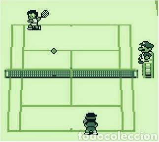 Videojuegos y Consolas: Juego Nintendo GameBoy TENNIS. Original y Completo. Año: 1989 - Foto 20 - 207771022