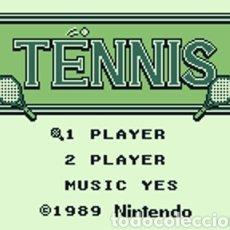 Videojuegos y Consolas: JUEGO NINTENDO GAMEBOY TENNIS. ORIGINAL Y COMPLETO. AÑO: 1989. Lote 207771022