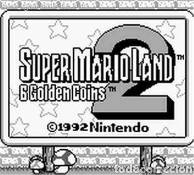 Videojuegos y Consolas: Juego Nintendo GameBoy SUPER MARIO LAND 2. Original y Completo. Año: 1992 - Foto 3 - 207772203