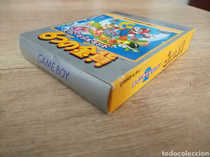 Videojuegos y Consolas: Juego Nintendo GameBoy SUPER MARIO LAND 2. Original y Completo. Año: 1992 - Foto 4 - 207772203