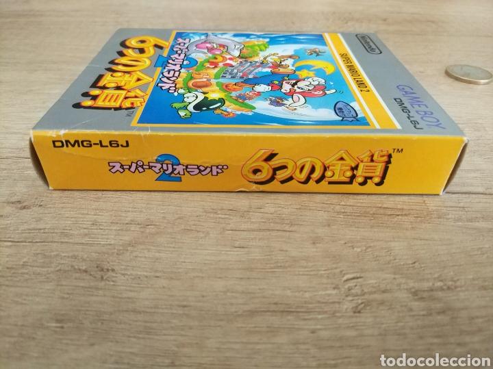Videojuegos y Consolas: Juego Nintendo GameBoy SUPER MARIO LAND 2. Original y Completo. Año: 1992 - Foto 9 - 207772203