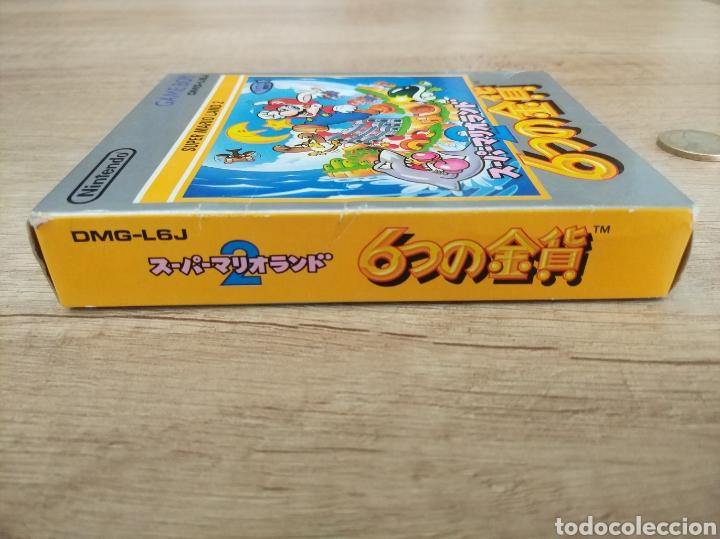 Videojuegos y Consolas: Juego Nintendo GameBoy SUPER MARIO LAND 2. Original y Completo. Año: 1992 - Foto 11 - 207772203