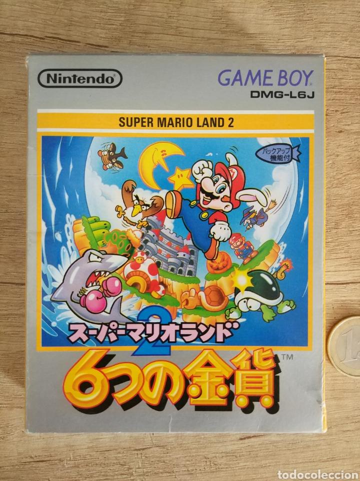 JUEGO NINTENDO GAMEBOY SUPER MARIO LAND 2. ORIGINAL Y COMPLETO. AÑO: 1992 (Juguetes - Videojuegos y Consolas - Nintendo - GameBoy)