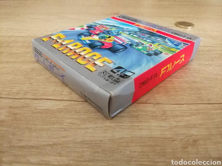 Videojuegos y Consolas: Juego Nintendo GameBoy F-1 RACE Original y Completo. Año: 1990 - Foto 5 - 207943591